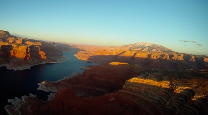 Lake Powell Photo Flights, April 2017